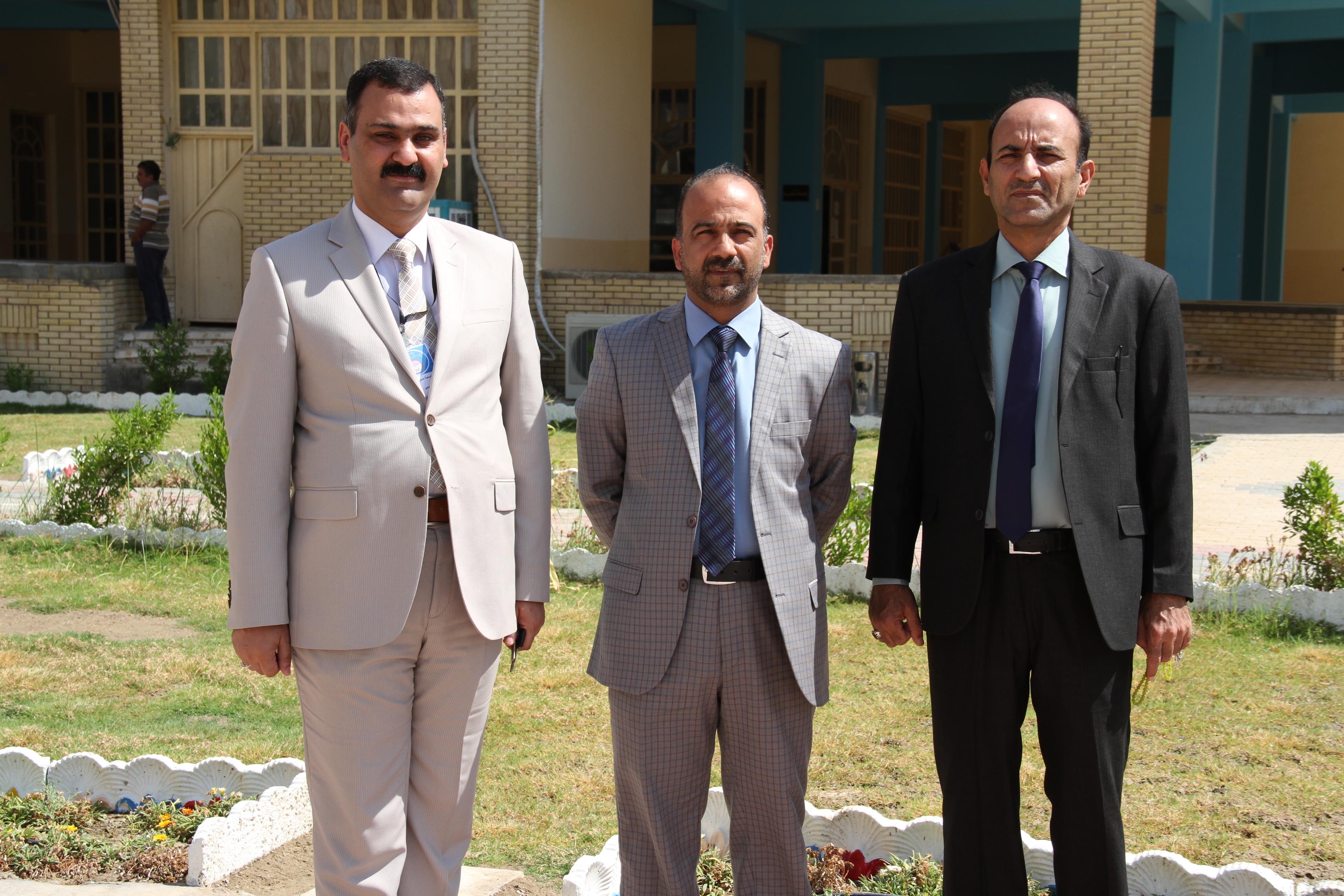 زيارة السيد مساعد رئيس جامعة القادسية للشؤون الإدارية