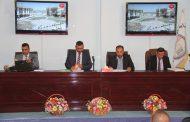 جامعة القادسية تعقد حلقة نقاشية عن ( جريمة الكسب غير المشروع ) .