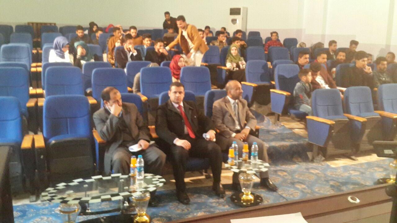 كلية القانون جامعة القادسية تنظم نشاط تضامن مع قوات الجيش والحشد الشعبي العراقي البطل وتحت شعار ( العراق ينتصر )