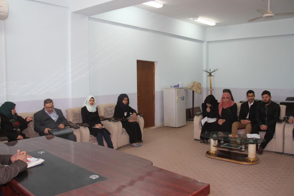 كلية القانون / جامعة القادسية عقدت الحلقة الدراسية (سيمنار) بعنوان (الاساس الفقهي للمطالبة بالمهر) .