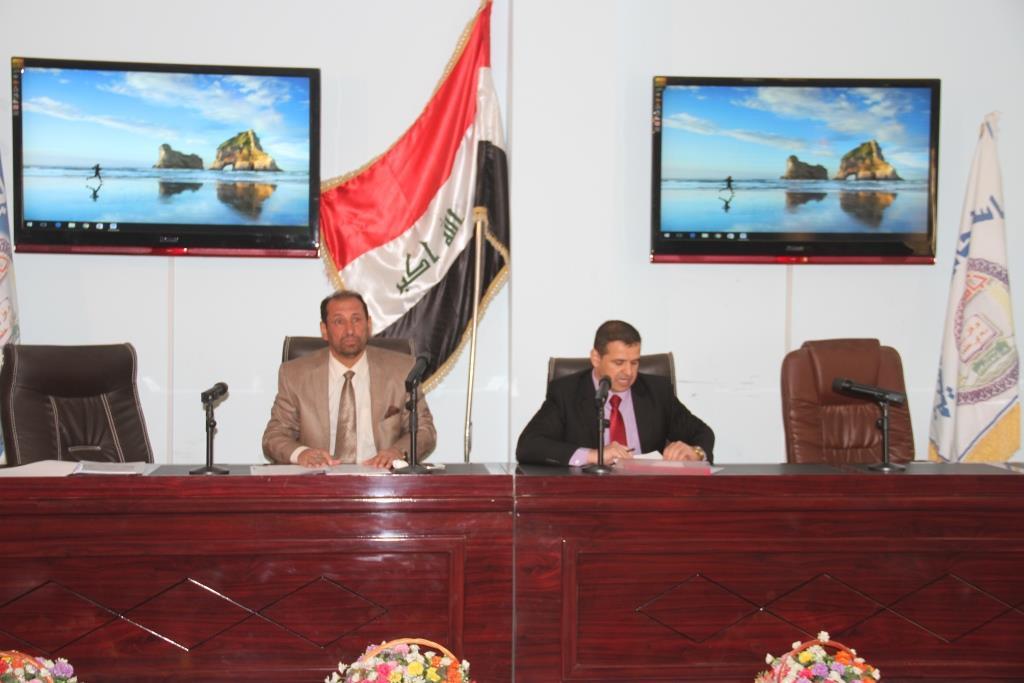 كلية القانون / جامعة القادسية تعقد الحلقة النقاشية بعنوان (تأثير اعتماد المدرسة اللاتينية في الدراسات القانونية في العراق على البعد العملي للإنتاج الاكاديمي)