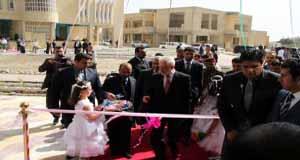 معالي وزير التعليم العالي يفتتح بناية كلية القانون الجديدة
