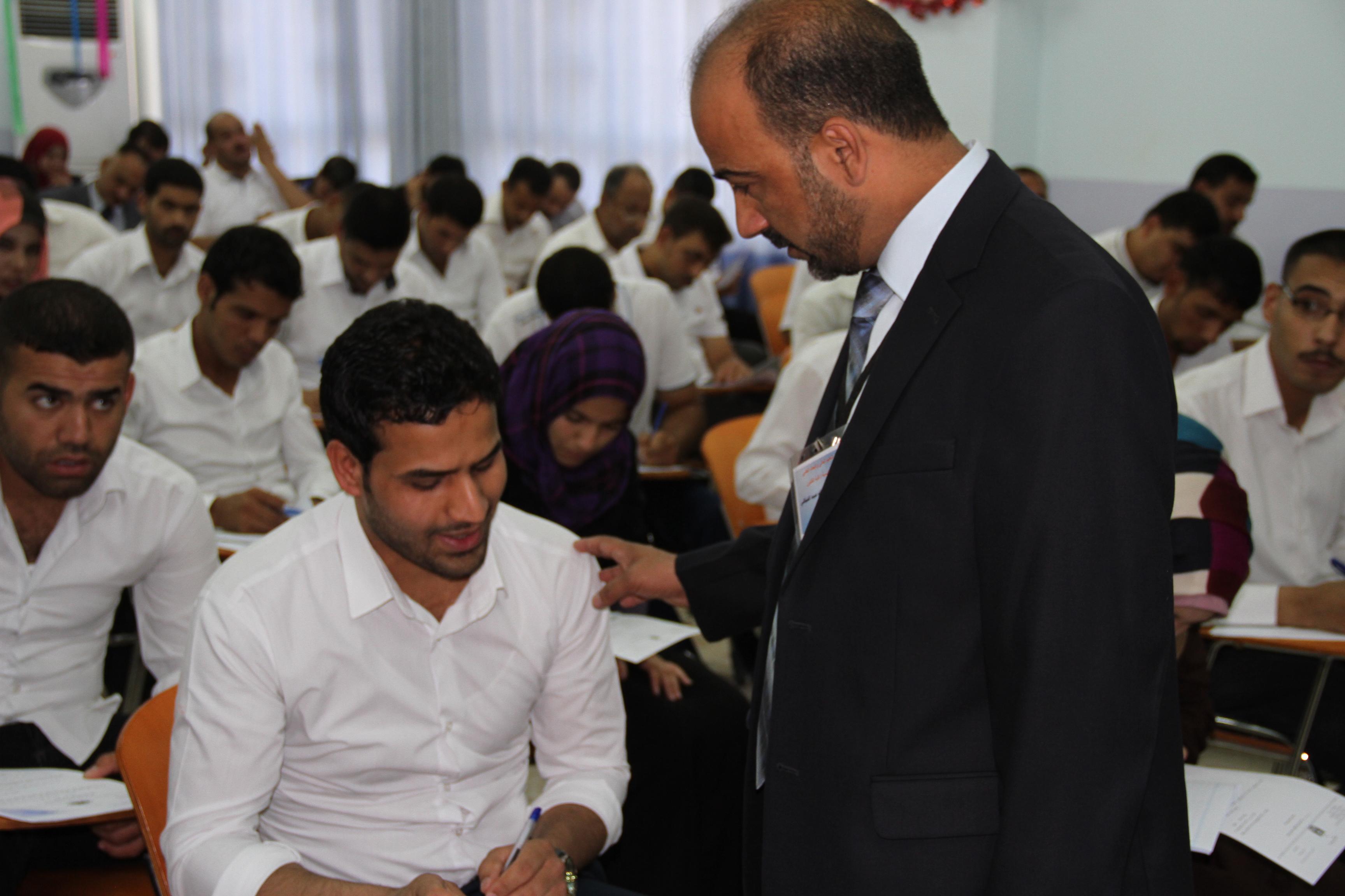 الامتحانات النهائية في كلية القانون/ جامعة القادسية
