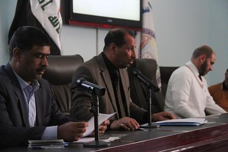 وحدة بحوث ودراسات حقوق الانسان تقيم الندوة الموسومة ( حقوق الانسان في عالم متغير ) ، ( التهجير القسري وحقوق الاقليات في العراق )
