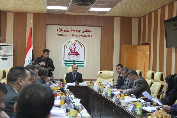 موجز اجتماع لجنة عمداء كليات القانون في العراق(كربلاء المقدسة)