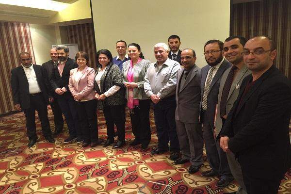 مشاركة السيد عميد كلية القانون في الدورة العربية العشرين في مجال القانون الدولي الأنساني