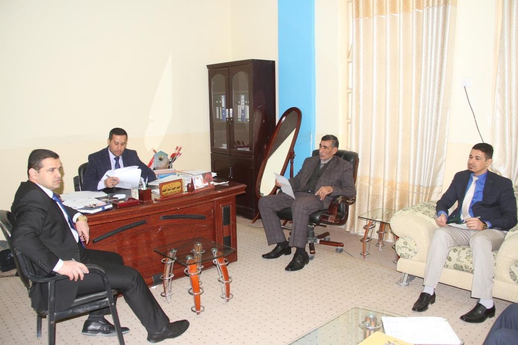 كلية القانون / جامعة القادسية عقدت الحلقة الدراسية (سيمنار) بعنوان (العراق حان الوقت للانضمام الى اتفاقية الاكسيد)