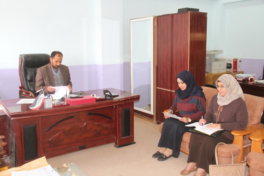 كلية القانون / جامعة القادسية الحلقة النقاشية بعنوان (الحماية الدولية للتراث الثقافي العالمي الاهوار في العراق نموذجا )