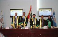 كلية القانون جامعة القادسية تناقش رسالة الماجستير بعنوان (التنظيم القانوني لضبط الجلسة البرلمانية في العراق – دراسة مقارنة)